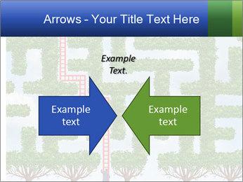 Grass Maze PowerPoint Template - Slide 90