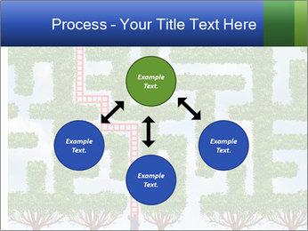Grass Maze PowerPoint Template - Slide 91