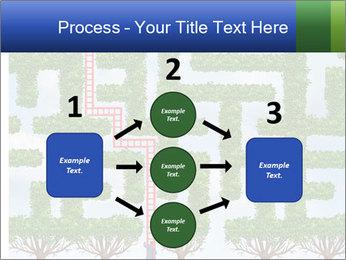 Grass Maze PowerPoint Template - Slide 92