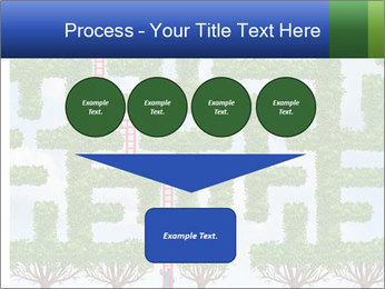 Grass Maze PowerPoint Template - Slide 93