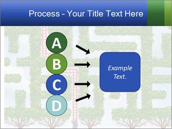 Grass Maze PowerPoint Template - Slide 94