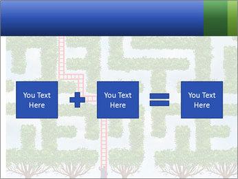 Grass Maze PowerPoint Template - Slide 95