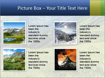 Green Rocks PowerPoint Templates - Slide 14