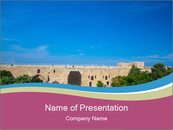 Northern Cyprus PowerPoint Template - Slide 1