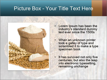 Organic Brown Bread PowerPoint Templates - Slide 13