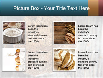 Organic Brown Bread PowerPoint Templates - Slide 14