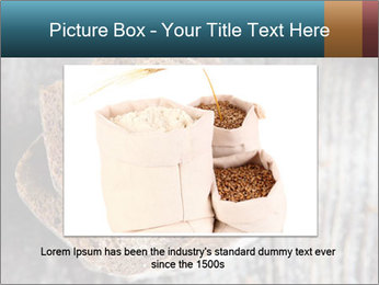 Organic Brown Bread PowerPoint Templates - Slide 15