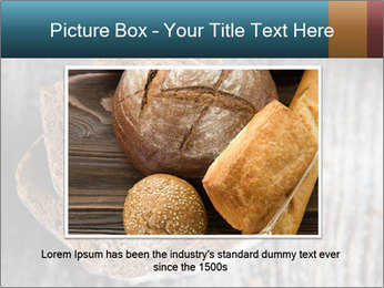 Organic Brown Bread PowerPoint Templates - Slide 16