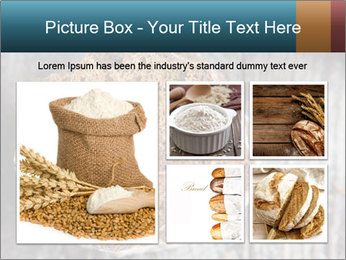 Organic Brown Bread PowerPoint Templates - Slide 19