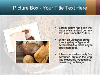 Organic Brown Bread PowerPoint Templates - Slide 20