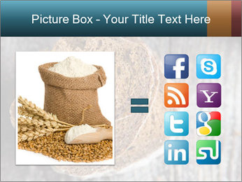 Organic Brown Bread PowerPoint Templates - Slide 21