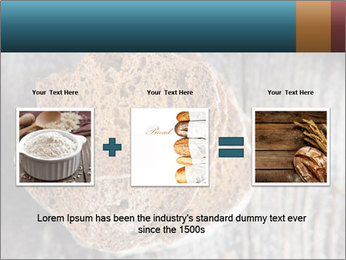 Organic Brown Bread PowerPoint Templates - Slide 22
