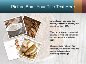 Organic Brown Bread PowerPoint Templates - Slide 23