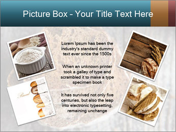 Organic Brown Bread PowerPoint Templates - Slide 24