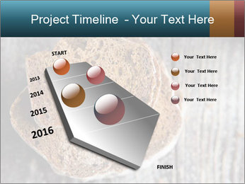 Organic Brown Bread PowerPoint Templates - Slide 26