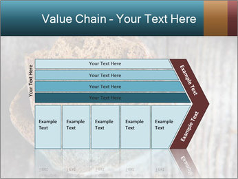 Organic Brown Bread PowerPoint Templates - Slide 27