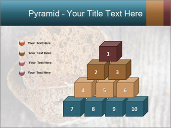 Organic Brown Bread PowerPoint Templates - Slide 31