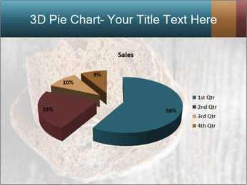 Organic Brown Bread PowerPoint Templates - Slide 35