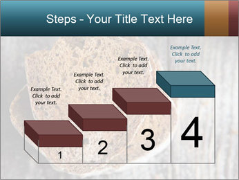 Organic Brown Bread PowerPoint Templates - Slide 64