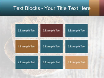 Organic Brown Bread PowerPoint Templates - Slide 68