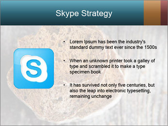 Organic Brown Bread PowerPoint Templates - Slide 8