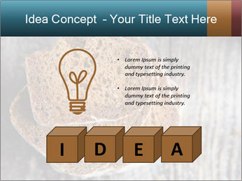 Organic Brown Bread PowerPoint Templates - Slide 80