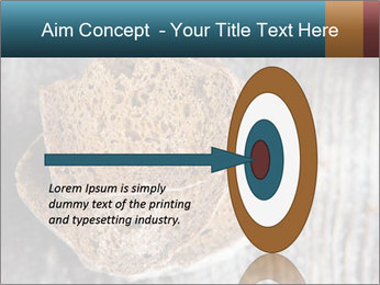 Organic Brown Bread PowerPoint Templates - Slide 83