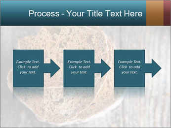 Organic Brown Bread PowerPoint Templates - Slide 88