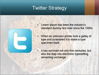 Organic Brown Bread PowerPoint Templates - Slide 9
