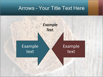 Organic Brown Bread PowerPoint Templates - Slide 90