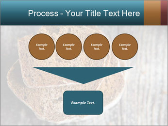 Organic Brown Bread PowerPoint Templates - Slide 93