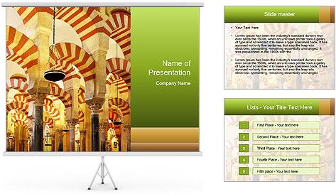 Antient Archway PowerPoint Template