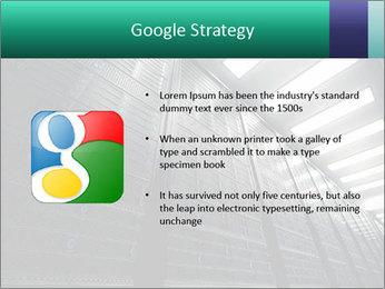 Big Server Room PowerPoint Template - Slide 10