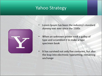 Big Server Room PowerPoint Template - Slide 11