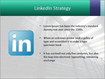 Big Server Room PowerPoint Template - Slide 12