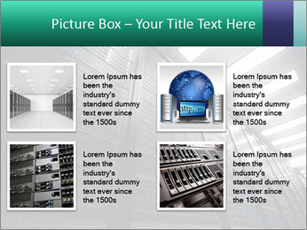 Big Server Room PowerPoint Templates - Slide 14