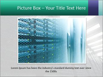 Big Server Room PowerPoint Template - Slide 15