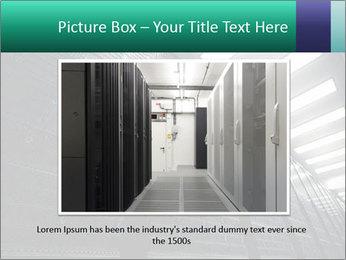 Big Server Room PowerPoint Template - Slide 16