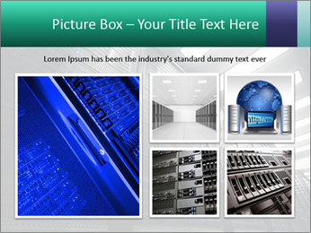 Big Server Room PowerPoint Template - Slide 19