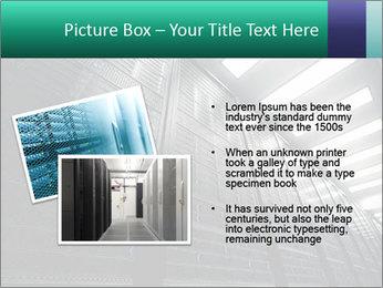 Big Server Room PowerPoint Template - Slide 20