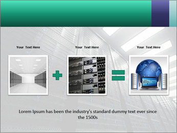 Big Server Room PowerPoint Template - Slide 22