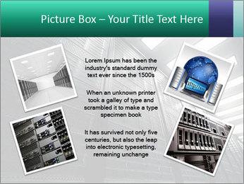 Big Server Room PowerPoint Template - Slide 24