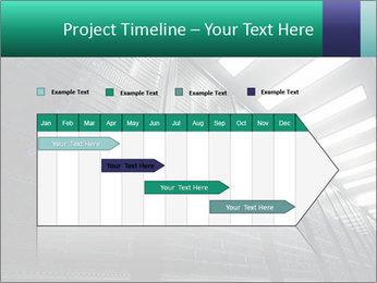 Big Server Room PowerPoint Templates - Slide 25