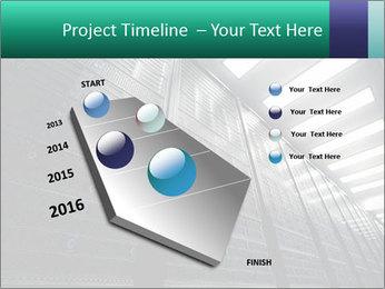 Big Server Room PowerPoint Template - Slide 26