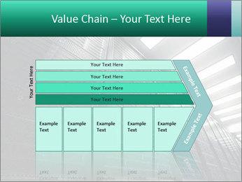 Big Server Room PowerPoint Template - Slide 27