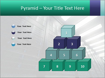 Big Server Room PowerPoint Templates - Slide 31