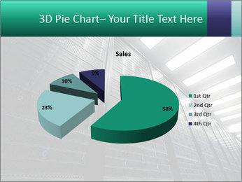 Big Server Room PowerPoint Template - Slide 35