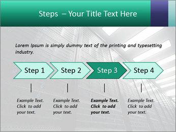 Big Server Room PowerPoint Template - Slide 4
