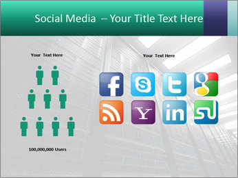 Big Server Room PowerPoint Template - Slide 5