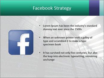 Big Server Room PowerPoint Templates - Slide 6